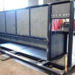 Struttura in ferro settore macchine utensili