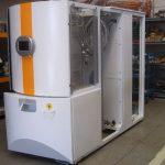 Telaio in ferro verniciato settore deposito microfilm