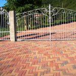cancello carraio e portoncino in ferro battuto zincato a caldo (1)
