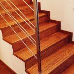 scala su legno